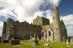 Rock of Cashel. The famous castle the Rock of Cashel in central Ireland Stock Photography