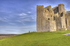 The Rock of Cashel  castle in Ireland. Stock Images
