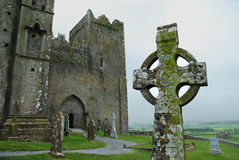 Rock of Cashel cemetery Stock Image
