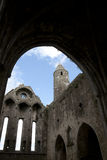 Rock of cashel church interior Royalty Free Stock Photography