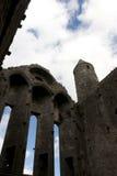 Rock of cashel church windows Stock Photos