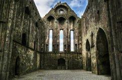 Rock of Cashel - interior. Rock of cashel - ruins of Ireland Stock Image