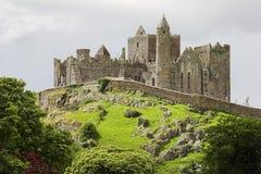 Rock of Cashel Ireland. Ruins of the rock of cashel in Ireland Stock Photo