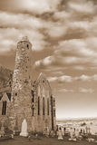 Rock of cashel in sepia Stock Photography