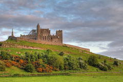 The Rock of Cashel at sunset Stock Photography