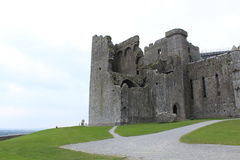 Rock of Cashel Tipperary Ireland. The ruined Rock of Cashel in County Tipperary Ireland stock photography