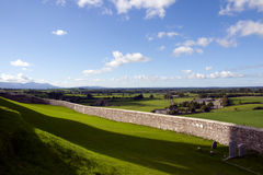 Rock of Cashel view Royalty Free Stock Image