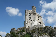 Rock Castle Royalty Free Stock Images