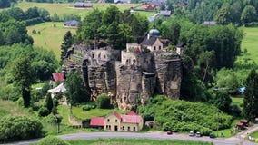Rock Castle Sloup stock footage