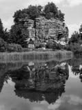 Rock Castle Sloup Stock Image