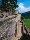 Rock castle Royalty Free Stock Image