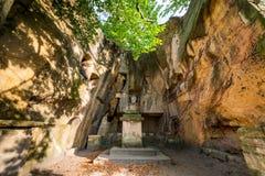 Rock Castle Vranov - Pantheon Royalty Free Stock Image