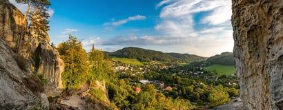 Rock Castle Vranov - Pantheon Royalty Free Stock Photos