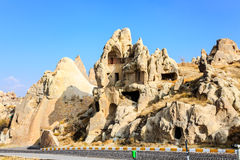Rock cave in cappadocia Stock Images