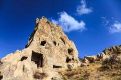 Rock cave in cappadocia Stock Image