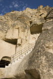 Rock Church exterior - Goreme, Open Air Museum - C Royalty Free Stock Photography