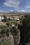 Rock city Ronda Royalty Free Stock Image