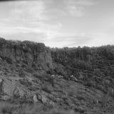 Rock cliff. Landscape stock photos