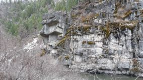 Rock cliff. Nature, landscape, climbing stock images