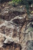 Rock cliff texture background. Natural rock cliff texture background Stock Photography