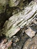 Rock Cliff wall still life royalty free stock photo