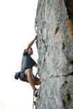 Rock climber Royalty Free Stock Photos