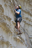 Rock-climber Royalty Free Stock Photography