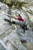Rock climber Stock Photography