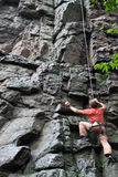 Rock-climber. Royalty Free Stock Images