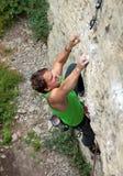 Rock climber Stock Images