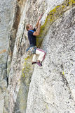 Rock climber. Stock Photography