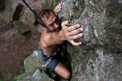 Rock-climber Stock Photos