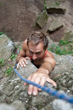 Rock-climber Royalty Free Stock Photos