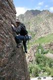 rock climber royalty free stock photos