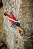 Rock Climber royalty free stock image