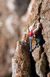 Rock climber Royalty Free Stock Photography