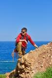 Rock-climber Stock Photography