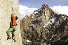 Rock climber. Stock Photography