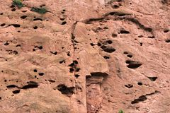 Rock Climber`s Dream at Garden of the Gods. A rock climbers dream spot in at Garden of the Gods in Colorado Springs, Colorado Royalty Free Stock Images