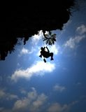Rock Climber Thailand Royalty Free Stock Images