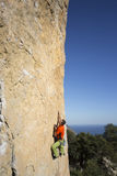 Rock climber. Stock Images