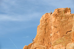 Rock Climbers Royalty Free Stock Image