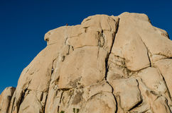 Rock Climbers on Large Boulder Royalty Free Stock Photography