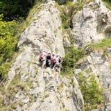 Rock climbers Stock Image