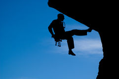 Rock climbing 008 Stock Image