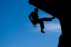 Rock climbing 008 stock image