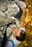Rock Climbing Stock Image