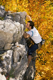 Rock Climbing Royalty Free Stock Photo