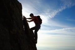 Rock-climbing Stockfoto