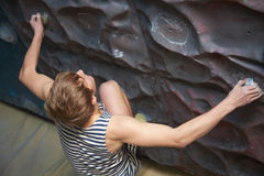 Rock climbing Royalty Free Stock Photography
